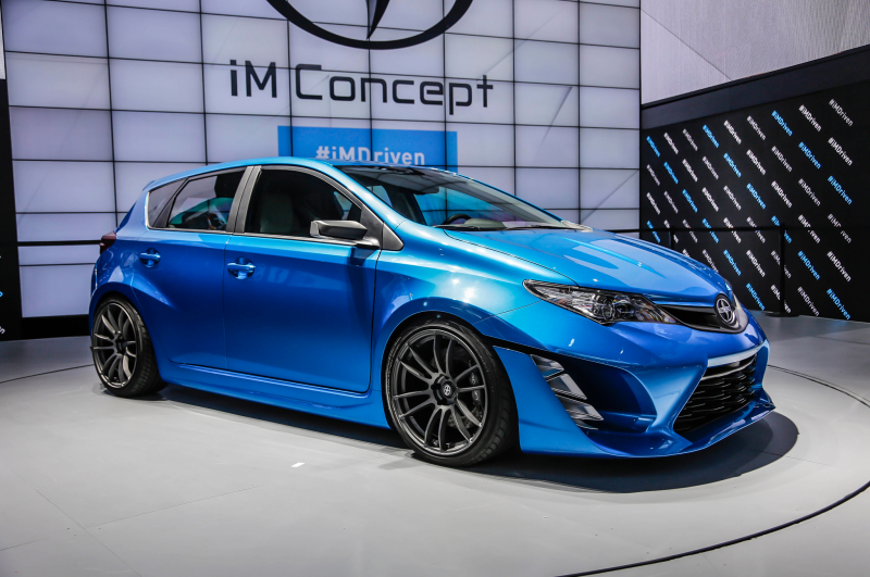 Scion Im Concept Front Three Quarter