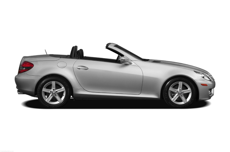 2011 Mercedes Benz SLK Class Convertible Base SLK300 2dr Roadster ...