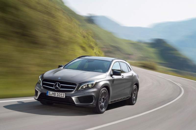 2015 mercedes-benz GLA class compact SUV