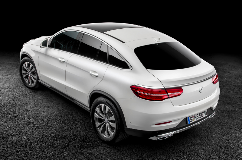 2016 Mercedes Benz Gle Class Coupe Rear Three Quarter