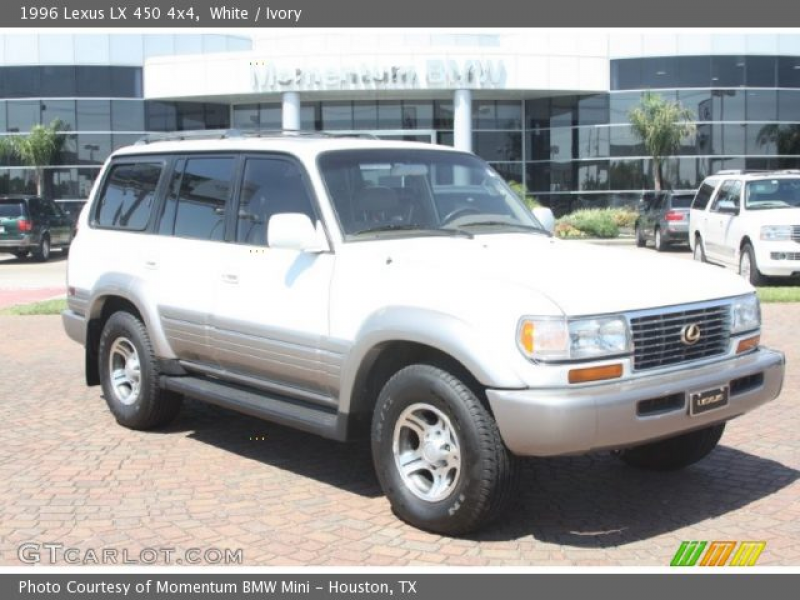 1996 Lexus LX 450 4x4 in White. Click to see large photo.