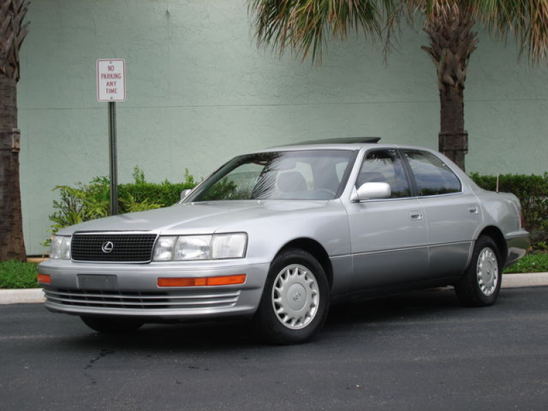 1992 Lexus LS 400 Base picture, exterior