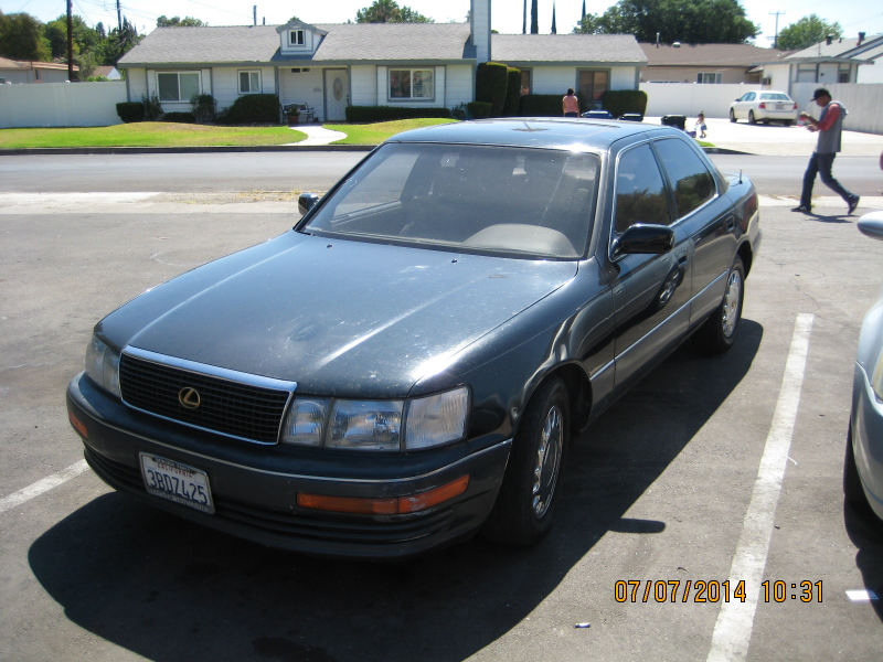 What's your take on the 1992 Lexus LS 400?