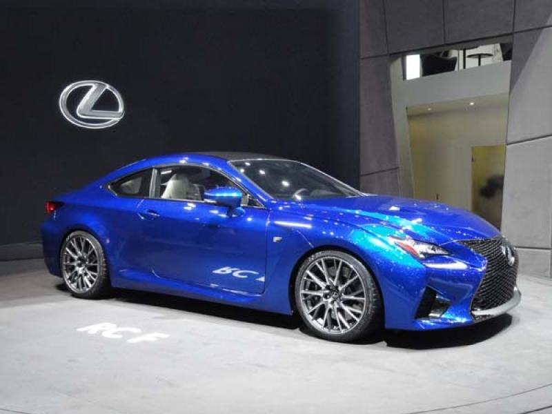 2015 Lexus RC 350 F Sport revealed