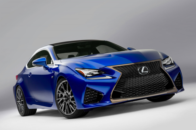 Lexus RC F High-Performance Coupe Revealed