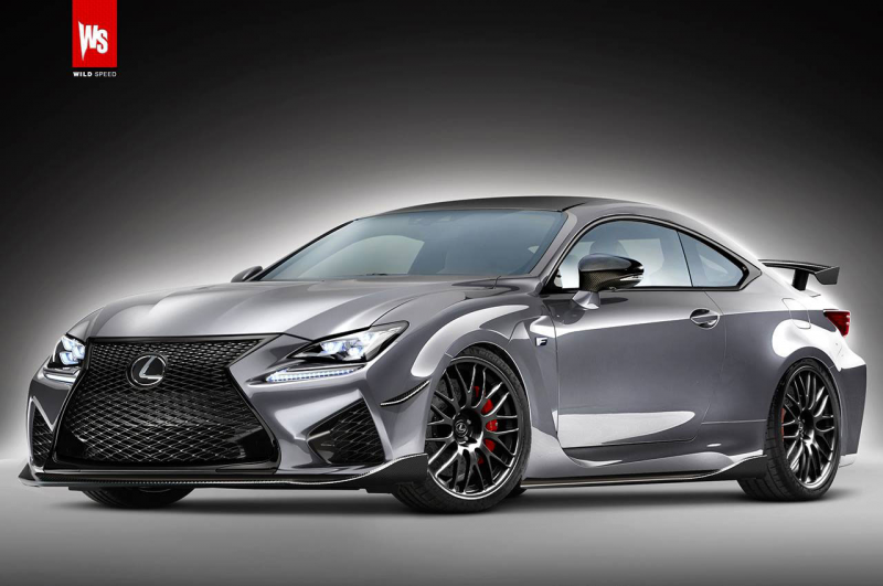 "... Lexus RC FS coupe by merging the ""standard"" RC F with elements of"