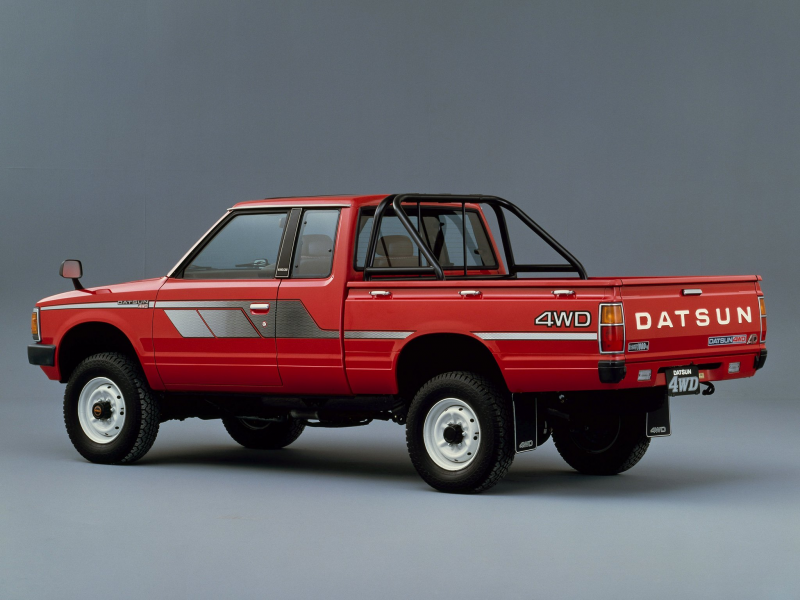 1982 Datsun Pickup 4WD King Cab JP-spec (720) nissan gg wallpaper ...