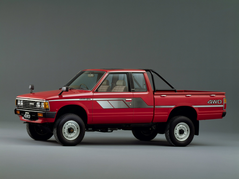 1982 Datsun Pickup 4WD King Cab JP-spec (720) nissan g wallpaper ...