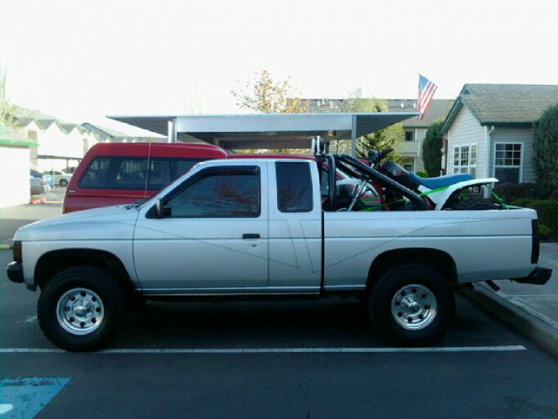 1987 Nissan Pickup, Loaded and ready to go!