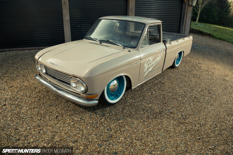 Images From: Low And Slow: A Datsun 520 Pickup… Players Style