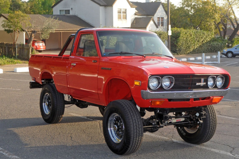 "HNG: 1975 Datsun 620 Pickup Truck w/Buick Small Block V8""This is an ..."