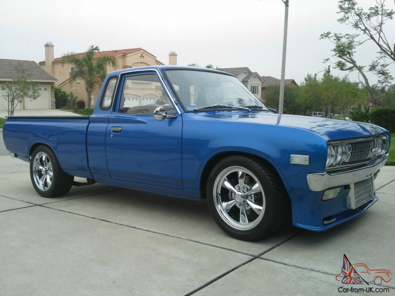Datsun Nissan 620 King Cab 1976 Show Pick Up Truck Restored Turbo ...