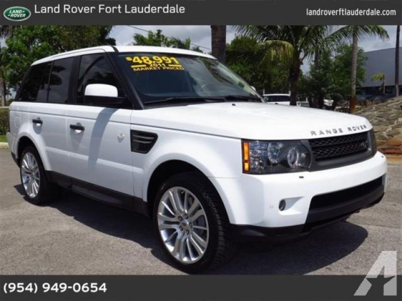 2011 Land Rover Range Rover Sport for sale in Pompano Beach, Florida