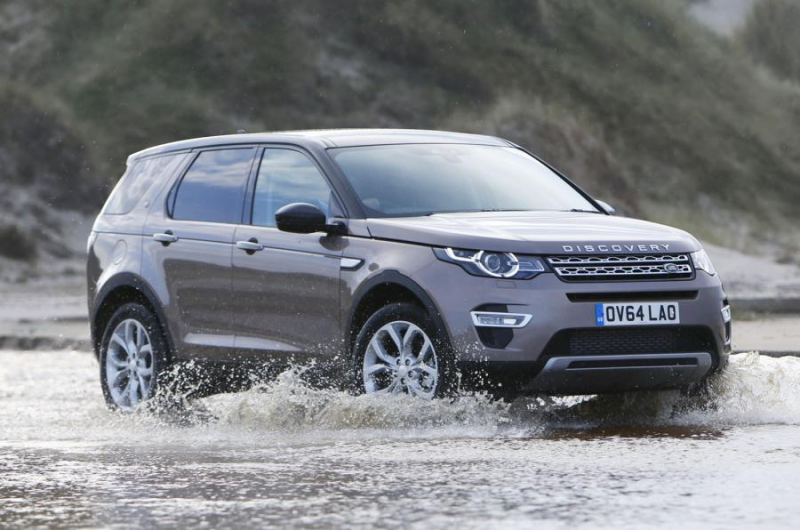 Discovery Sport shares many of its mechanicals with the Evoque
