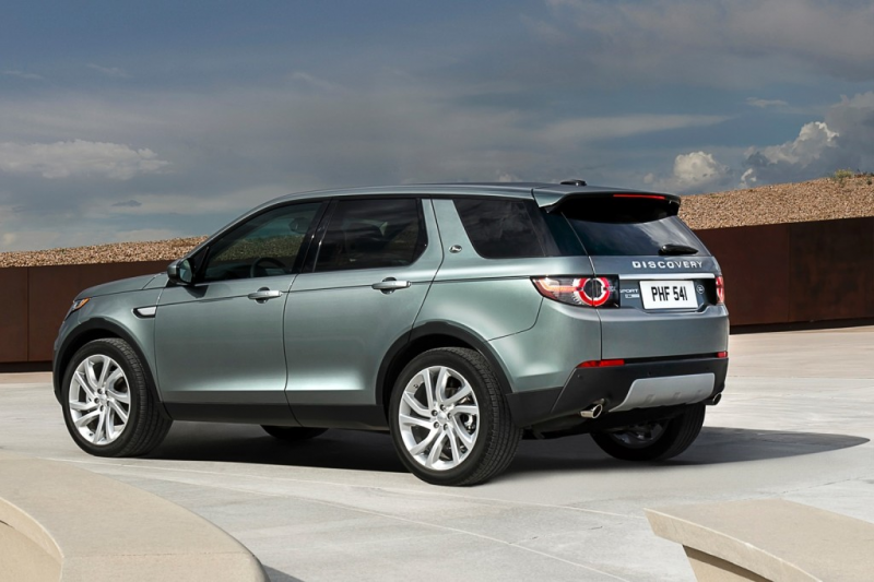2015 Land Rover Discovery Sport mpg specs