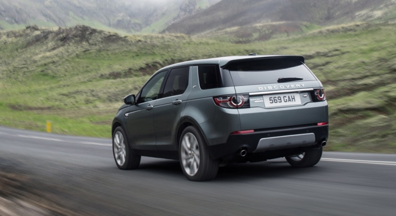 2016 Land Rover Discovery Sport – Photos