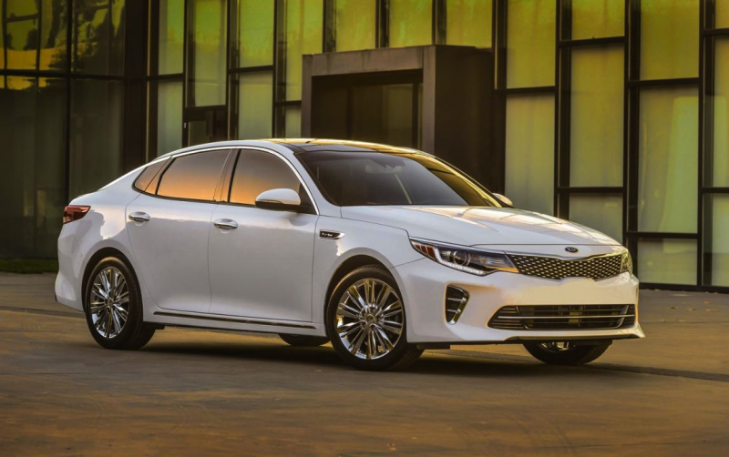 The latest iteration of the Optima features a new front end, with ...