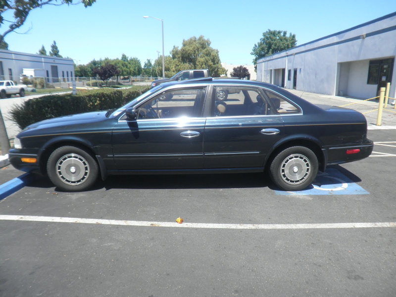 1994 Infiniti Q45 before bodywork & paint at Almost Everything Auto ...