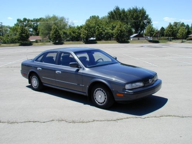 Infiniti Q45 charcoal grey - 1990 - Picture 02FAA095762979A