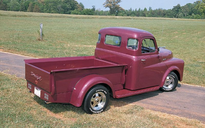 1949 Dodge Truck Backview