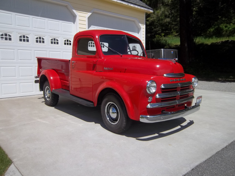 "1948 Dodge ""Pilot House Cab"" Pickup 48k Original Miles…Sold"