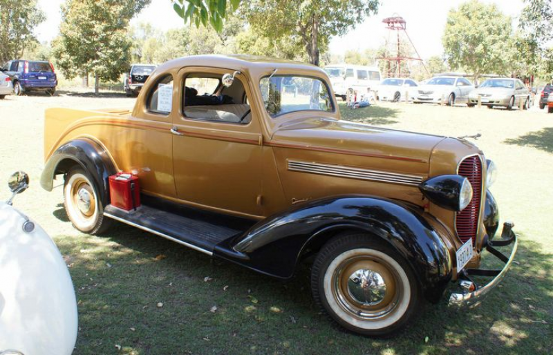 1937 Dodge coupe utility