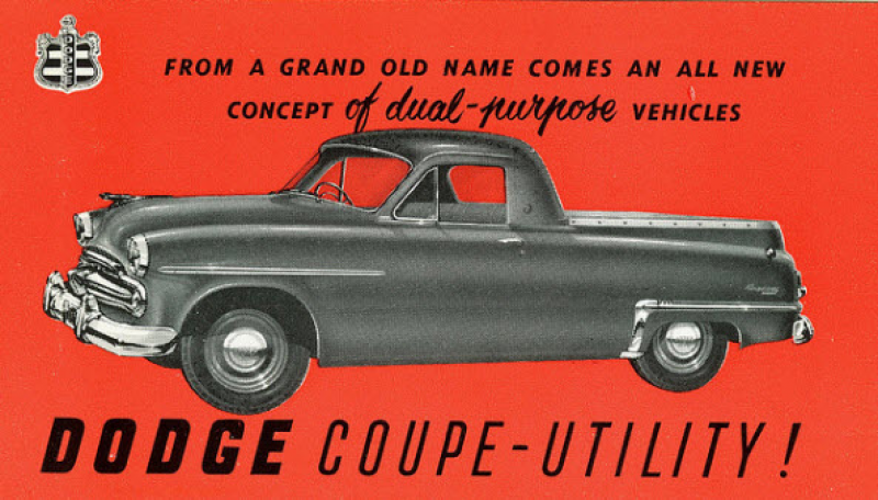 Dodge Coupe Utility