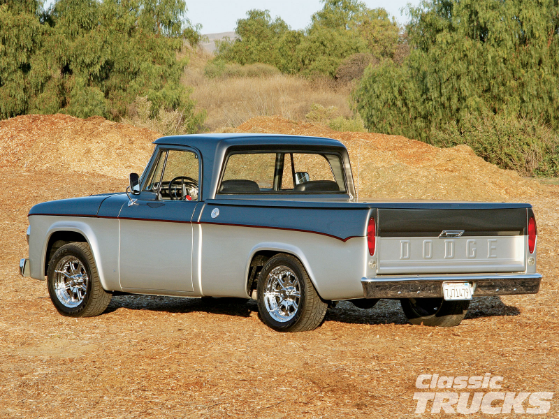1967 Dodge D100 Pickup Truck Tail Gate