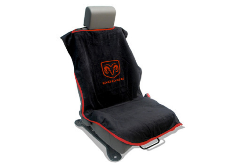 Dodge Ram Accessory - Seat Armour Slip-On Seat Cover With Dodge Logo