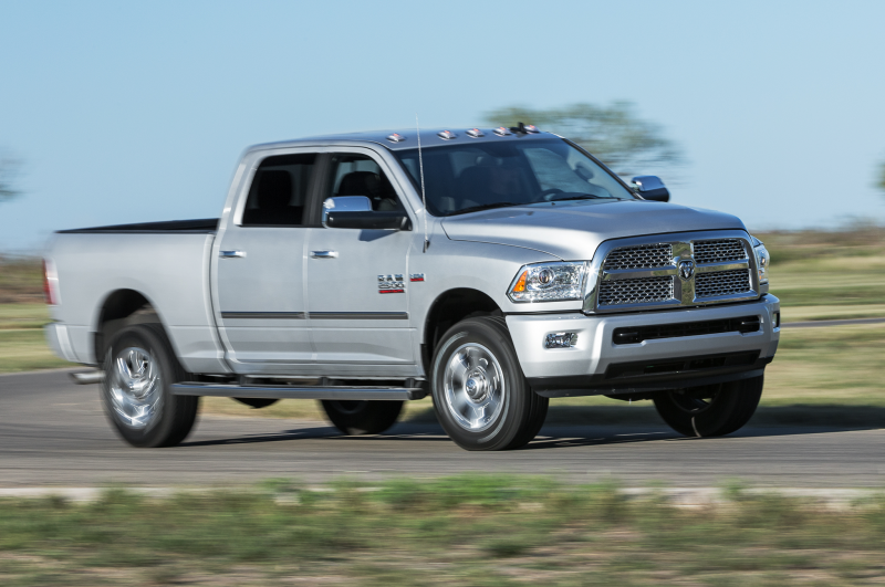 2014 Ram 2500 Hd Laramie Limited In Motion