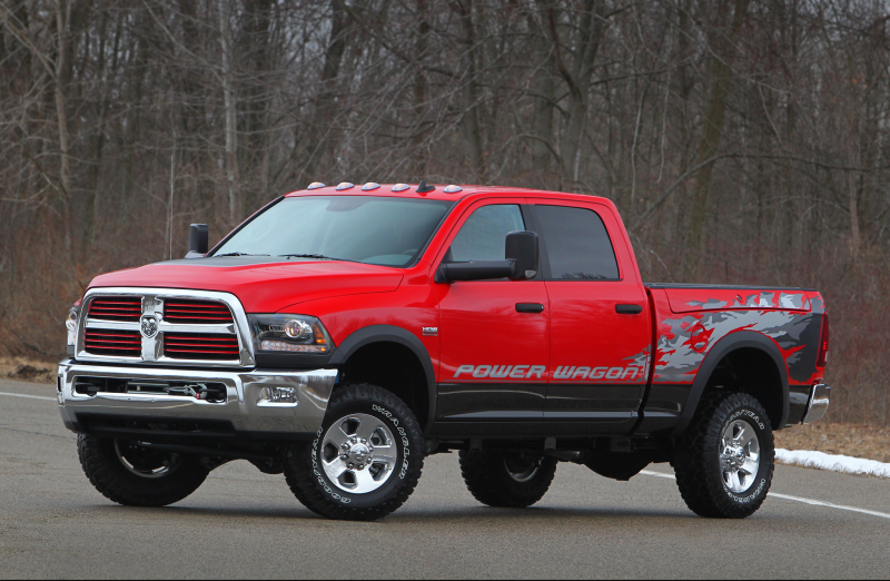 2014 Ram 2500 Power Wagon First Look Photo Gallery