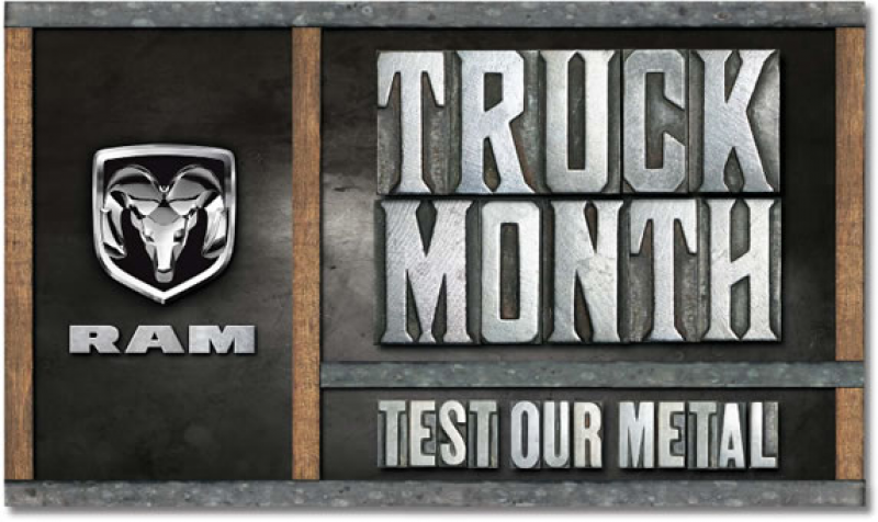 2012 Dodge Ram Truck Month is here!