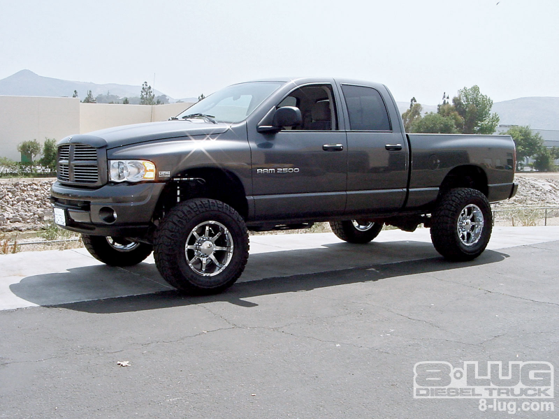 Superlift 4 Inch Lift Kit 2004 Dodge Ram 2500