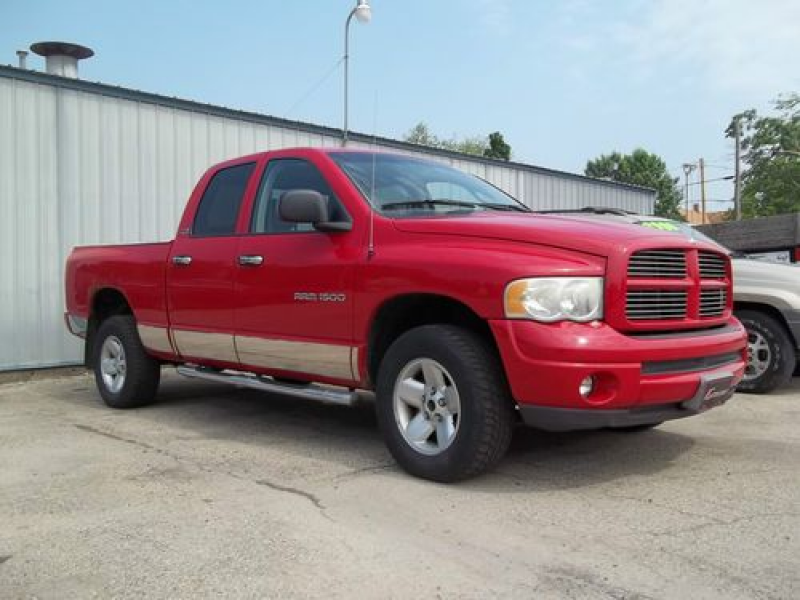 2002 Dodge Ram 1500 ST Crew Cab Pickup 4-Door 4.7L-Chrome rockers ...