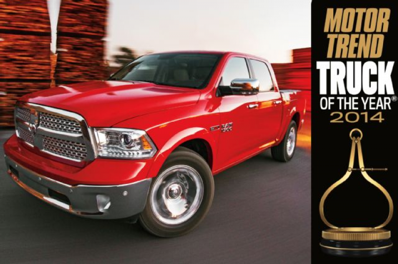 2014 Motor Trend Truck of the Year: Ram 1500