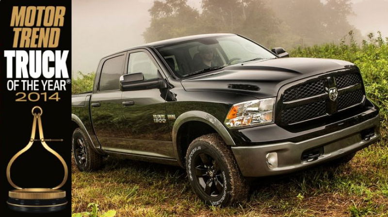 Motor Trend's Truck of the Year: 2014 Ram 1500