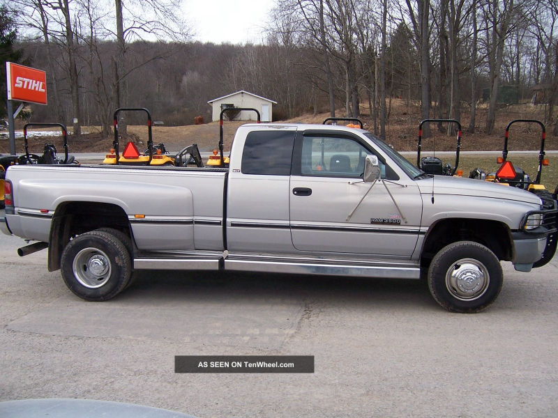 1997 Dodge Ram 3500 Cummins Diesel Dually Ram 3500 photo 5