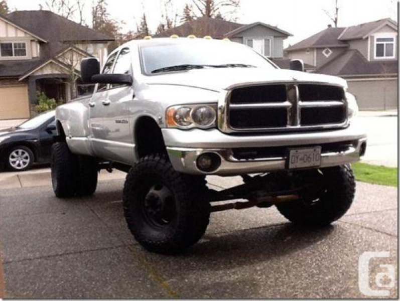 2003 Dodge Ram 3500 Laramie Cummins Turbo Diesel - $23999 (Maple Ridge ...