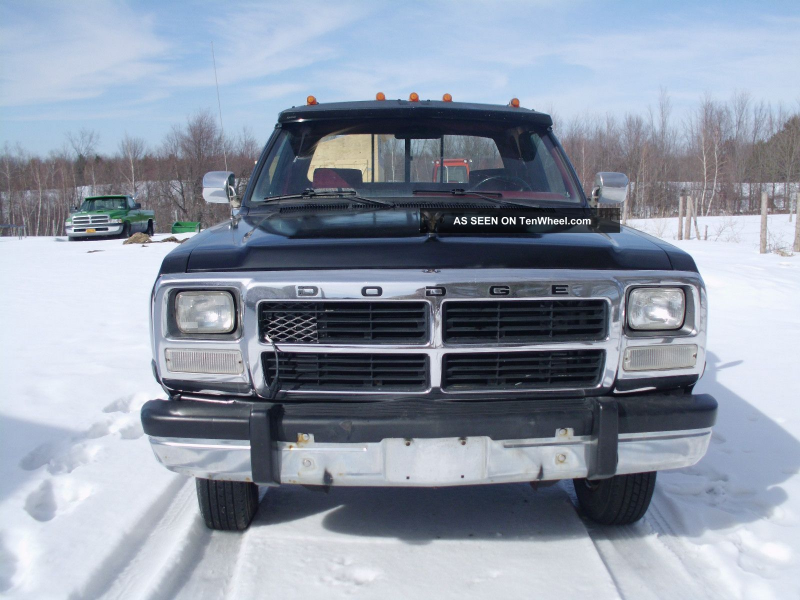 1992 Dodge Ram 350 Cummins Turbo Diesel Dually 4x4 Ram 3500 photo 1