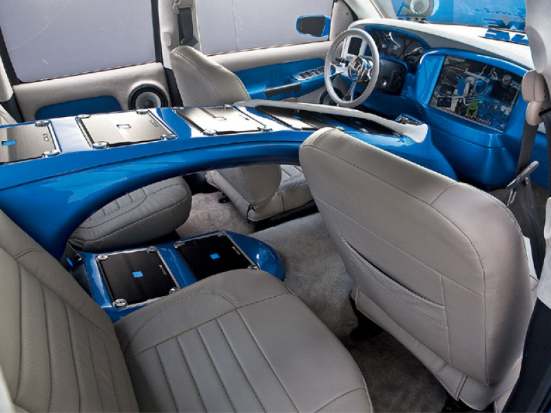 2002 Dodge Ram 1500 Custom Interior