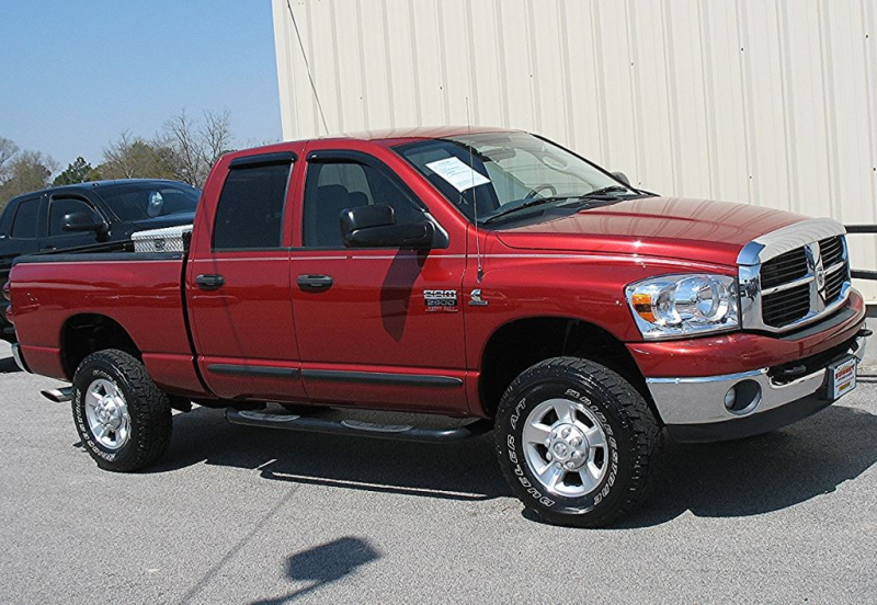 exterior color red thomson dodge ram 2500 red