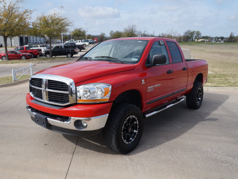 TDY Sales - 2006 Dodge Ram 2500 in Red. With 91,310 miles SLT 4x4 Nav ...