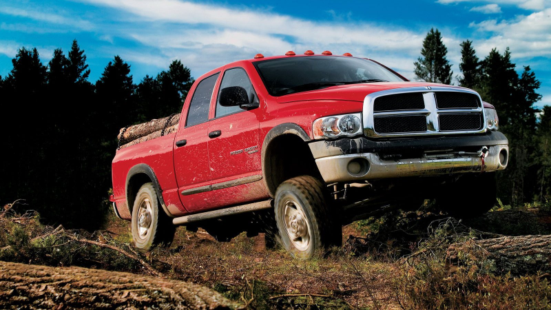 Dodge Ram 2500 Power Wagon 4x4 Pickup Truck 2005