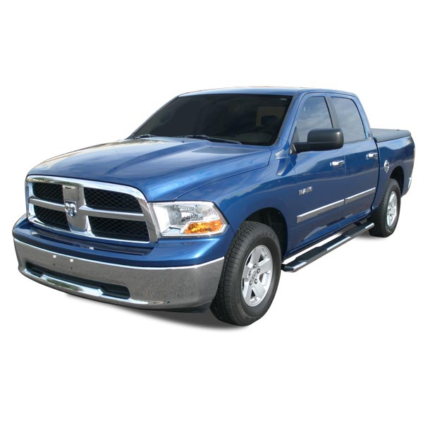 "ICI Dodge Ram 1500 5"" Oval Nerf Bars Bullet Cab Length Stainless Steel ..."