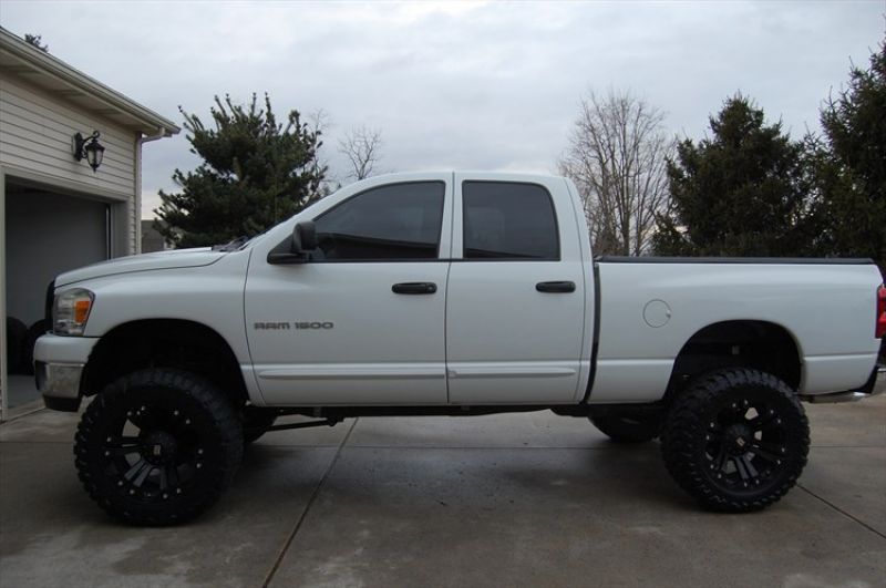 Dodge Ram 1500 Lifted 3 Inches