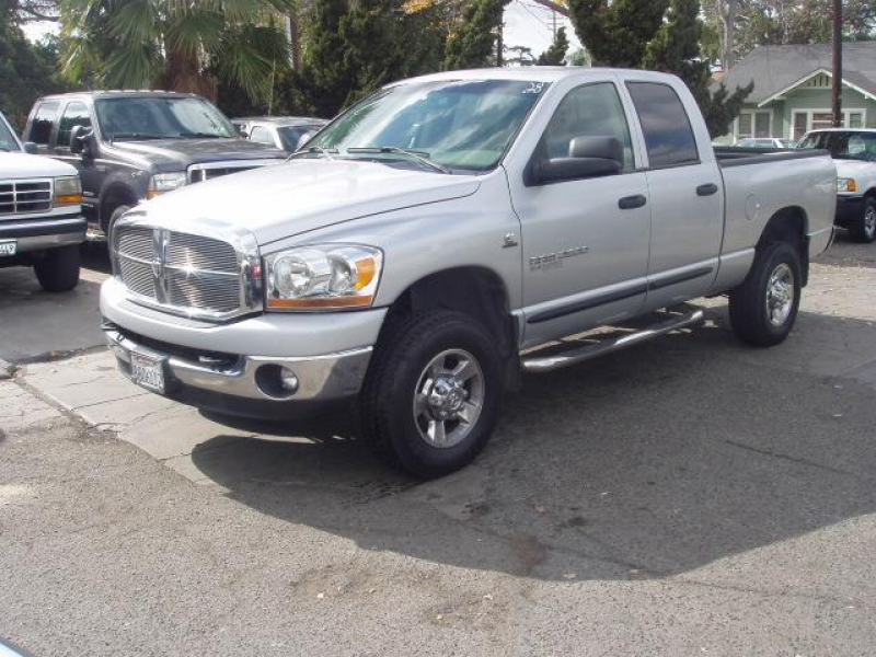 dodge ram 2500 diesel 4wd quad cab viewing image 2 of 9 2006 dodge ram ...