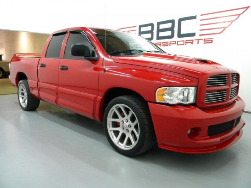 2005 Dodge Ram SRT-10 Clean Carfax Viper Engine Leather 22s Fog Lamps ...
