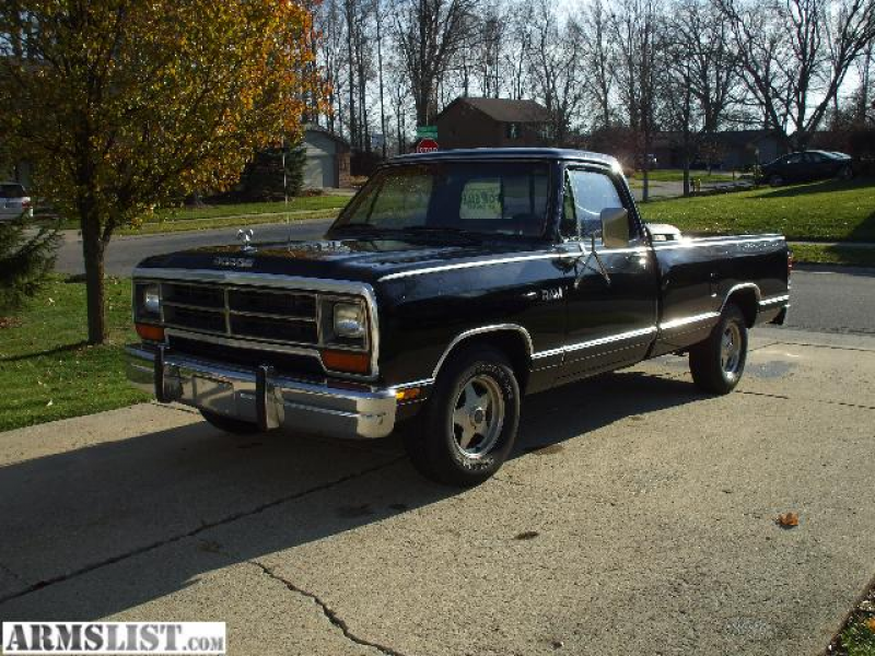 For Sale: 1987 Dodge Ram