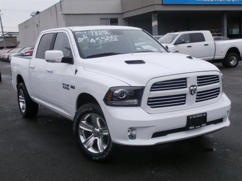 2013 Dodge RAM 1500 Crew Cab 4X4 SPORT - Langley, British Columbia ...