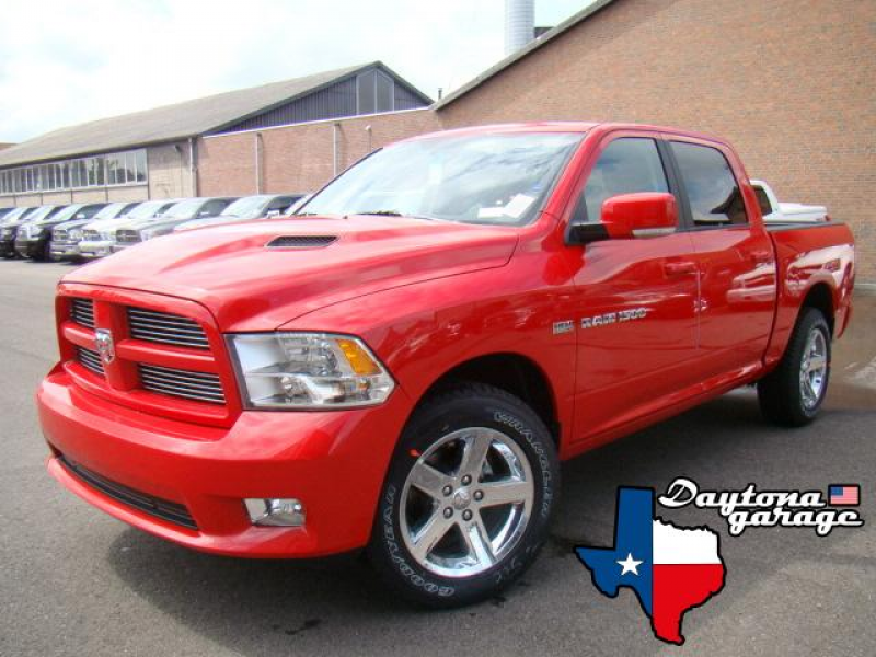 2011 dodge ram 1500 crew cab sport in flame red dark slate ram 1500 ...